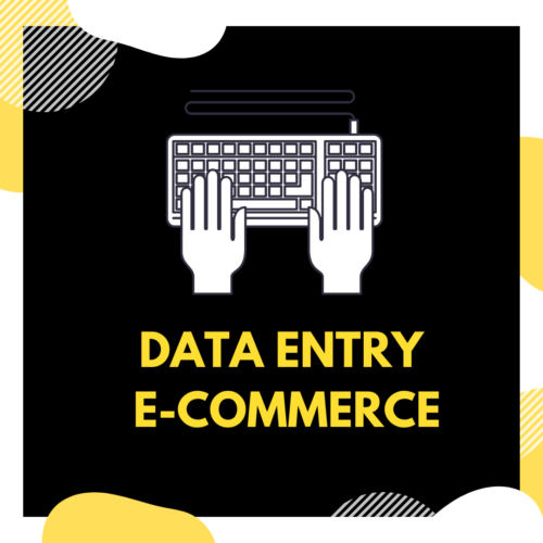 Data-Entry prodotti per E-commerce